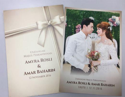 Amar Amyra Kad Kahwin