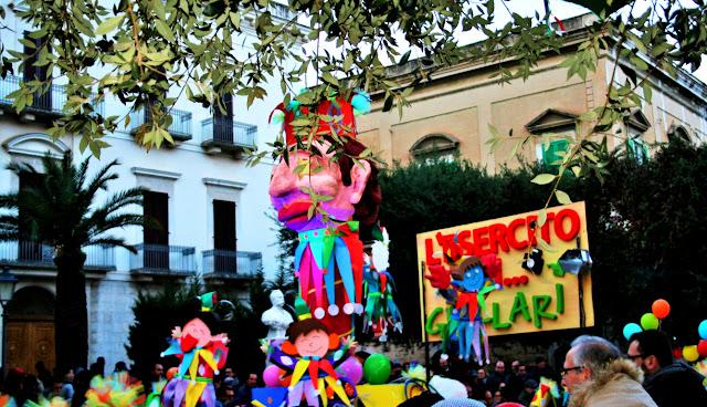 maschere, carnevale, Corato carnevale 2018, colori, alberi, palme