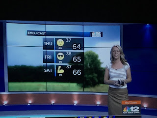 Emojicast on the news