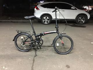 Sepeda Lipat Polygon Urbano REVIVE 20 inch