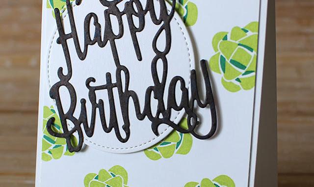 Lemon-Lime Birthday Bows