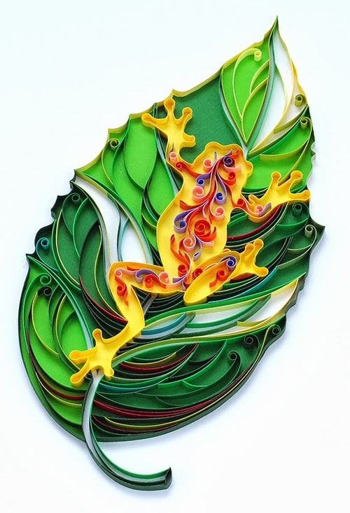 03-Frog-Quilling-Paper-Art-PaperGraphic-www-designstack-co