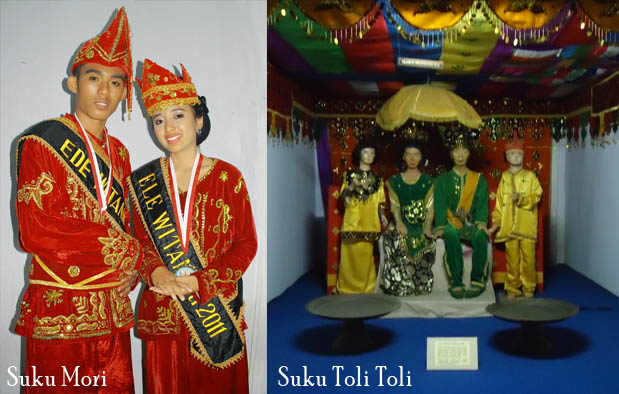 Pakaian Adat Sulawesi Tengah suku Mori dan Buol