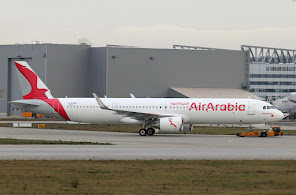 1st A321NX for Air Arabia