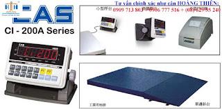 Giới thiệu cân sàn điện tử cas ci-200 1mx1m