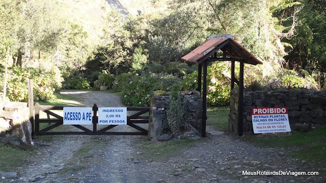Acesso à Cascata Véu de Noiva - Urubici / SC