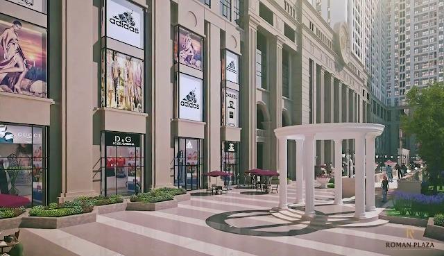 trung tâm thương mại sang trọng tại chung cư roman plaza