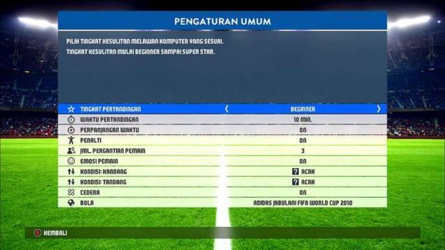 PES 2017 Teks Bahasa Indonesia V1 dari PES Hybrid