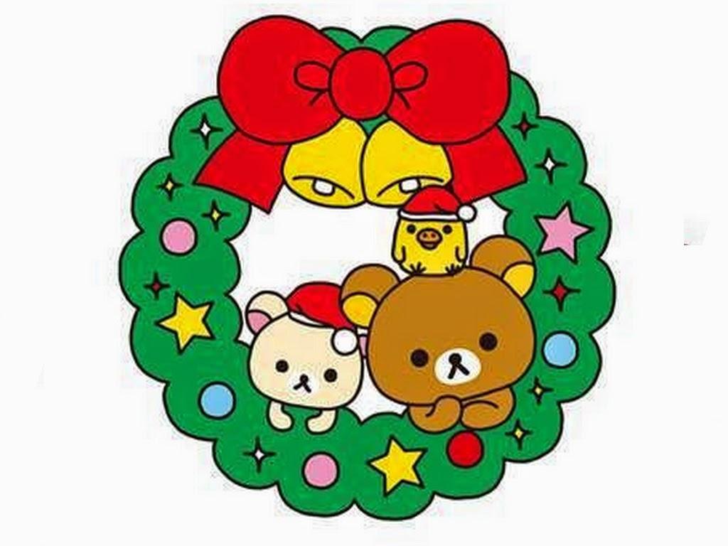 Tumblr Fondos De Pantalla De Navidad: Pc Kawaii Navidad Iconos Fondos Papercraft Rilakkuma