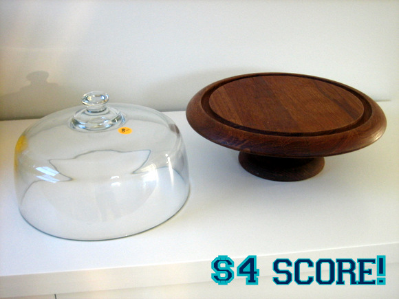 Cake Stand Before and After