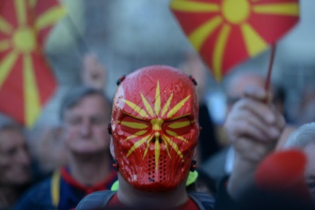 Bild des Tages - Der Mann mit der Maske