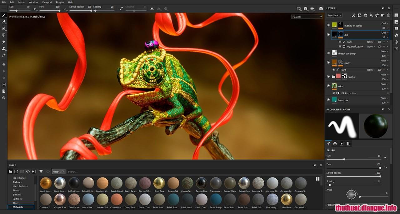Download Substance Designer 2018 Full – Phần mềm đồ họa 3D
