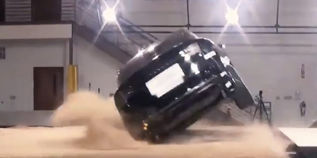 Tesla Model X crash test