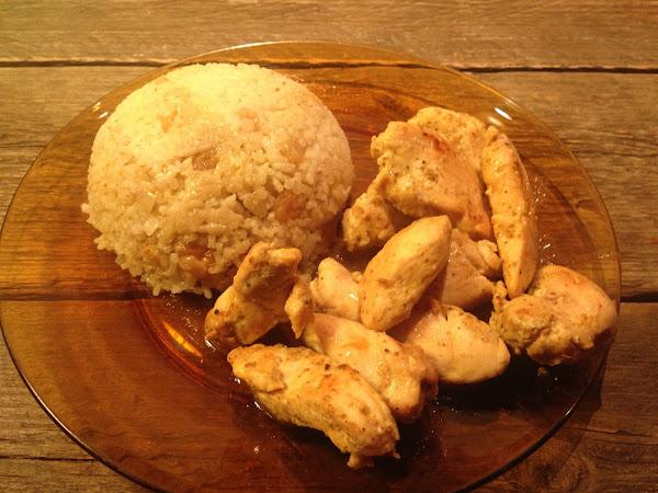Пиле с ориз по арабски