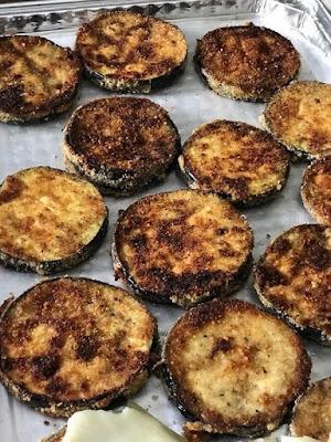 Fried Breaded Eggplant frozen