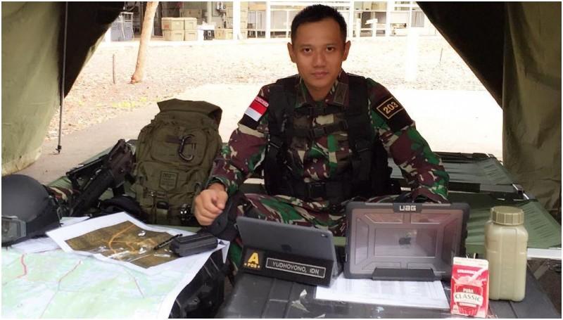 Agus Harimurti Yudhoyono saat masih menjadi anggota militer