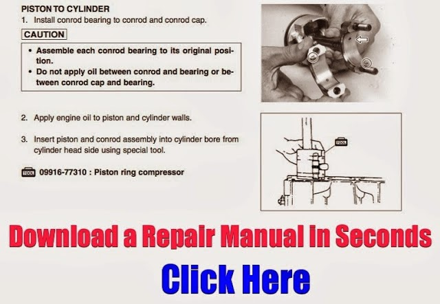 DOWNLOAD OUTBOARD REPAIR MANUAL INSTANTLY: 1985-1990 Suzuki 115
