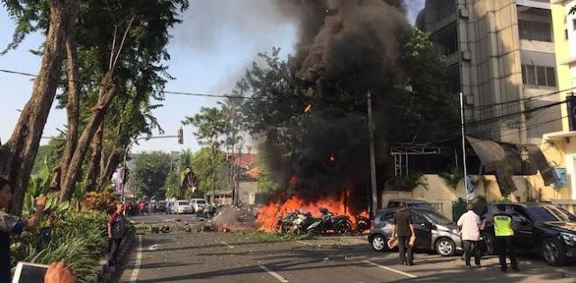 Inilah Jenis Bom Yang di Ledakan Teroris di 3 Gereja Surabaya