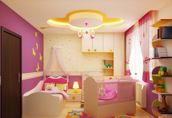 Dormitorios para beb s ni as dormitorios colores y estilos - Dormitorio bebe nina ...