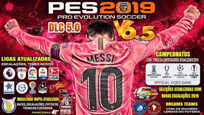 PES 2019 PS4 Option File v6.5 DLC 5.0 by Emerson Pereira Season 2018/2019