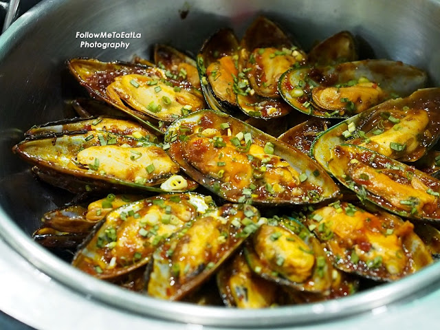 Chinese Cuisine Fried Mussel with Chilli & Hot Bean Sauce