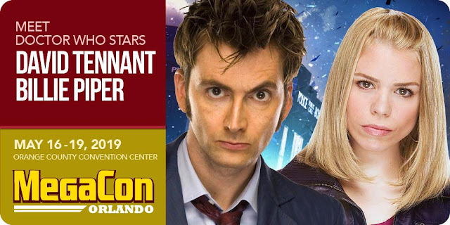 David Tennant - MegaCon Orlando fan convention - Friday 17th and Saturday 18th May 2019