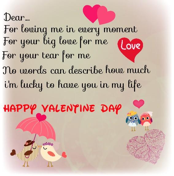 Contoh Surat Valentine