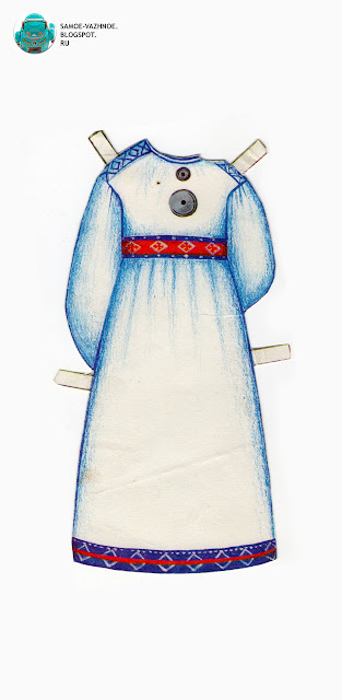 . Бумажные куклы для печати СССР, советские. В народном костюме. Бумажные куклы в национальных костюмах Эстония Таллин СССР.