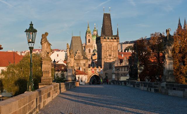 Primeiro dia de viagem em Praga