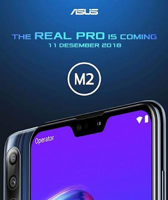 Zenfone Max Pro M2 Hadir Di Penghujung Tahun 2018