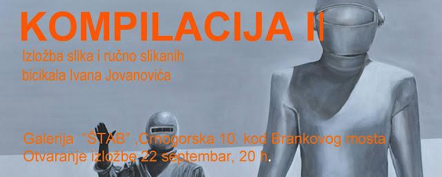 Otvaranje samostalne izložbe Ivana Jovanovića