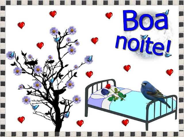 Cartões postais de boa noite
