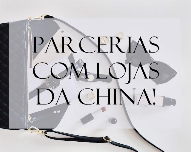 parcerias com lojas da china