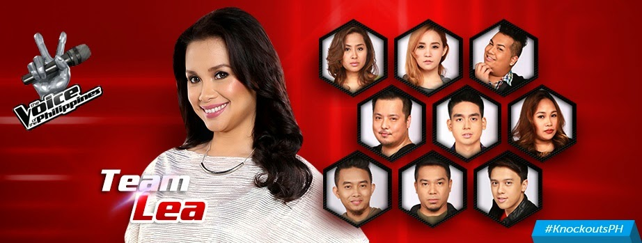 Team Lea 'The Voice PH' Knockout Rounds Results