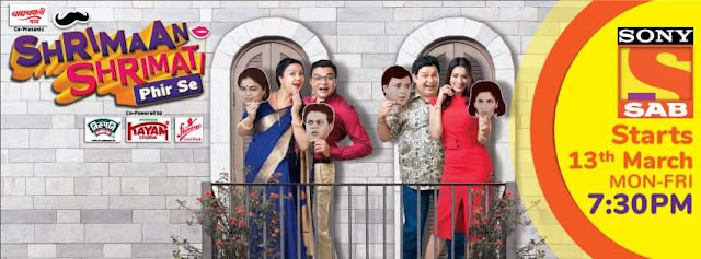 'Shriman Shrimati Phir Se' Serial on Sab Tv Wiki Plot,Cast,Promo