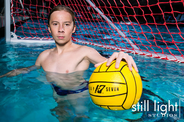 still light studios best sports school senior portrait photography bay area water polo