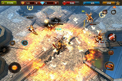 dungeon-hunter-3-iphone-1 Gameloft revela primeiras Screenshots e artes de Dungeon Hunter 3 para iPhone, iPad e Android