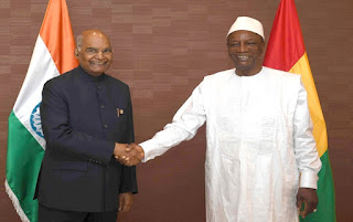 MoU signed between India and Guinea