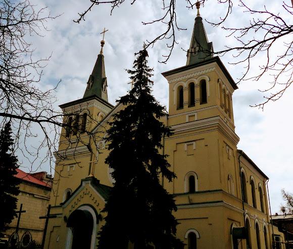 Днепр. Католическая церковь святого Иосифа. 1877 г