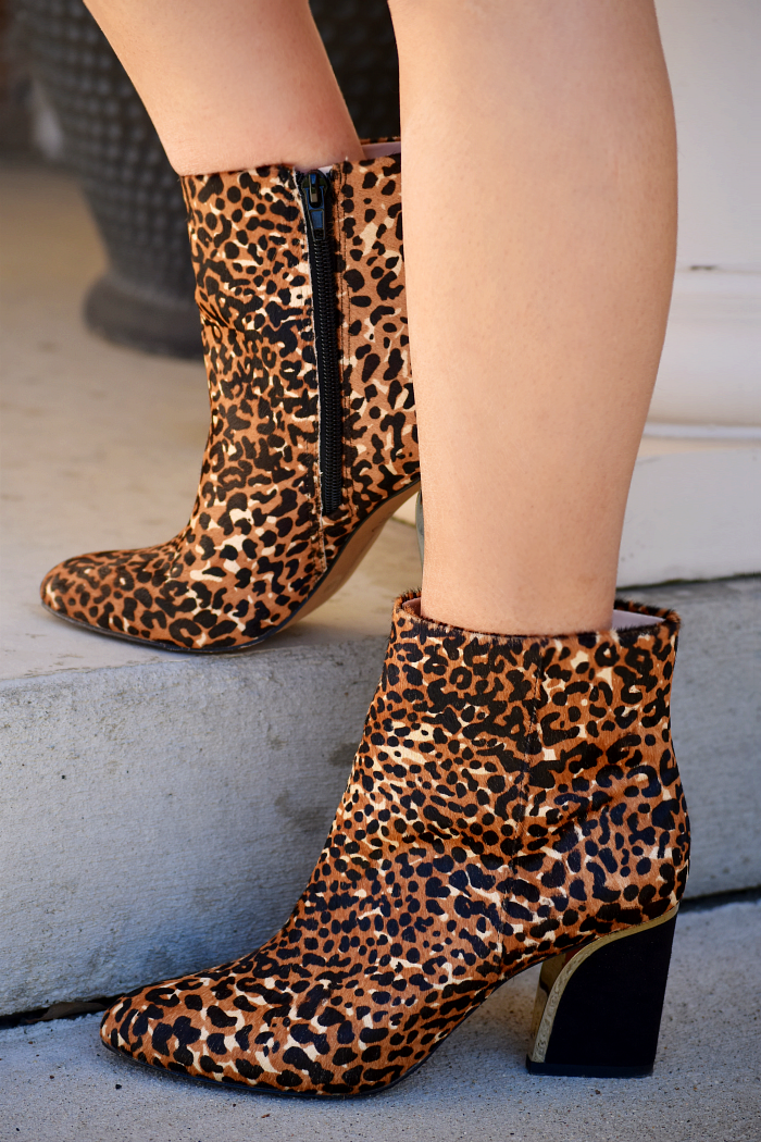 animal print booties from macy's