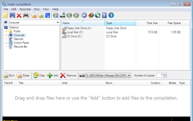 تحميل برنامج حرق الاسطوانات مجانا Download CDBurnerXP 4.5