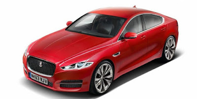 Jaguar XF left side view Hd wallpaper