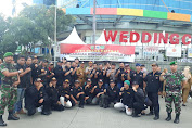 Amankan Pemilu 2019, Ormas BPPKB Banten Ikut Apel Bersama Polsek Tambora