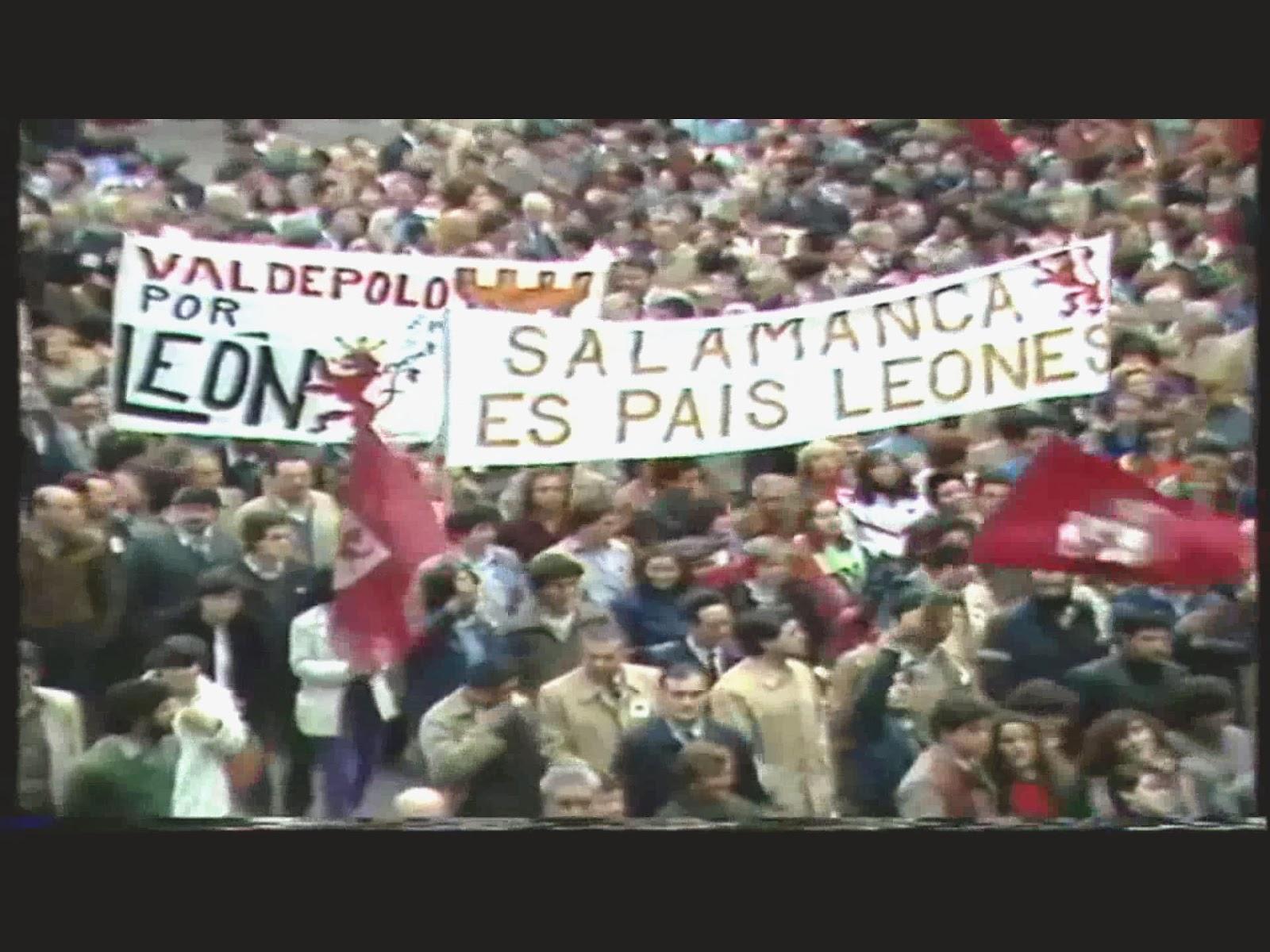 Resultado de imagen de manifestacion leonesista 4 de mayo 1984