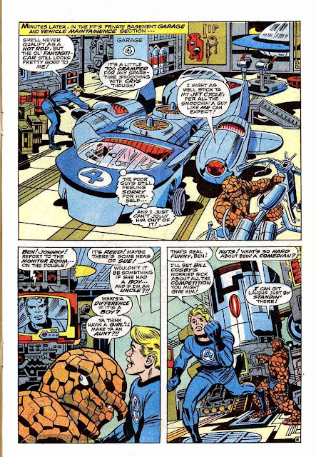 Fantastc Four v1 #78 marvel 1960s silver age comic book page art by Jack Kirby