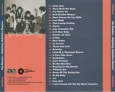 The Pleazers -Definitely Definitive (1965-1966)