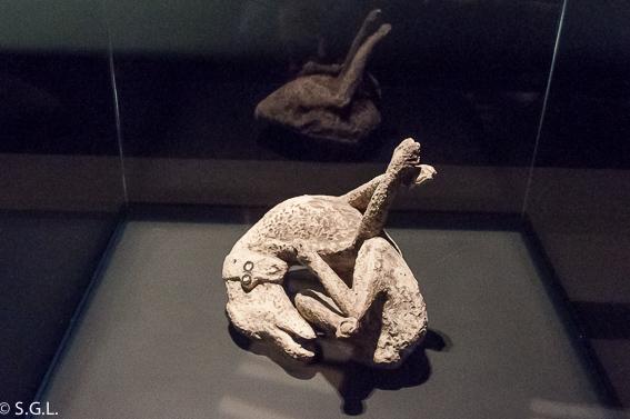 Perro de Pompeya en Royal Ontario Museum ROM Toronto