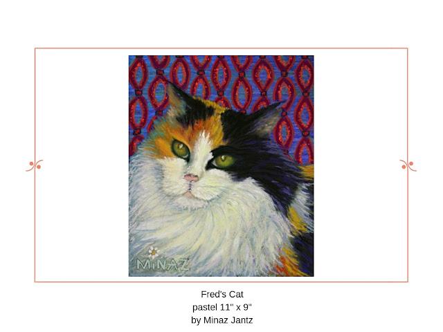 Fred's Cat by Minaz Jantz
