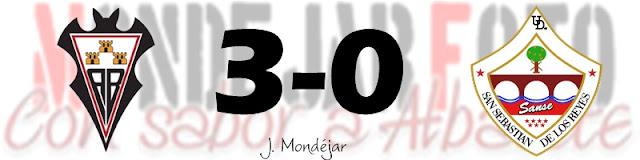 ¡EL ALBA LÍDER! CON VICTORIA POR 3-0 ANTE EL SANSE