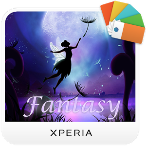 Free Download XPERIA™ Fantasy Theme Apk 1.00 Terbaru